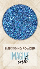 Blue Fern Studios Embossing Powder - Stormy Seas (810886)