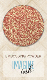 Blue Fern Imagine Ink Embossing - Red Skies (813689)
