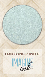 Blue Fern Imagine Ink Embossing - Breeze (117572)