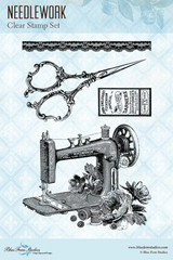Blue Fern Studios - Clear Stamp - Needlework (109874)