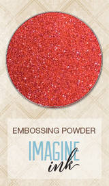 Blue Fern Imagine Ink Embossing - Rusty Rose (818882)