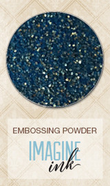Blue Fern Imagine Ink Embossing - Golden Seas (141171)
