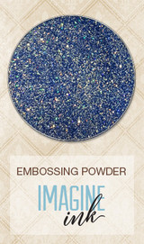 Blue Fern Imagine Ink Embossing - Heavenly (108075)