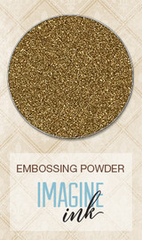 Blue Fern Imagine Ink Embossing - Ginger (114472)