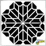 Chrysanthemum Crafters Workshop Ronda Palazzari 6x6 Stencil (236477)