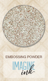 Blue Fern Studios - Imagine Ink Embossing Powder - Timeless Collection - Oatmeal (109379)