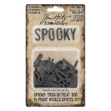 Tim Holtz Ideaology Halloween - 44 pcs - Typography (93611)