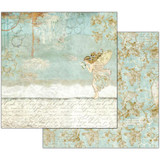 Stamperia - Wonderland - Double sided 12x12 Paper - Fairy & Writings (SBB537)