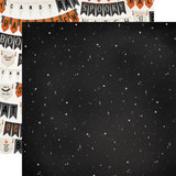 Carta Bella - Double-Sided Cardstock 12x12 - Halloween Market - Night Sky (CBHM121 6)