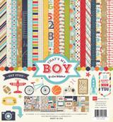 Echo Park Paper - Lori Whitlock - 12x12 Collection Kit - That's My Boy (TMB60016)