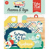 Good Day Sunshine - Frames & Tags Cardstock Die-Cuts - Echo Park