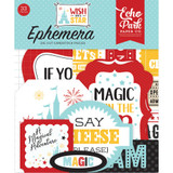 Echo Park - Wish Upon A Star - Ephemera Cardstock Die-Cuts (TNW1008)