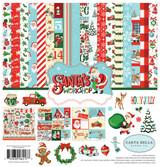 Carta Bella - 12x12 Collection Kit - Santa's Workshop (CBSW90016)