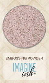 Blue Fern Studios Imagine Ink Embossing Powder - Pink Dust (817281)