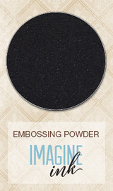 Blue Fern Studios Imagine Ink Embossing Powder - Ebony (109577)