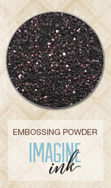 Blue Fern Imagine Ink Embossing - Dark Chocolate (813580)