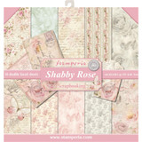 Stamperia - Shabby Rose, - Scrapbooking 12 x 12 Collection Pack SBBL12
