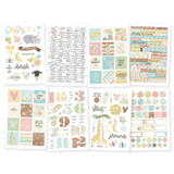 """Simple Stories - Stickers 4""""X6"""" 8/Pkg - Oh Baby! (OH10132)"""