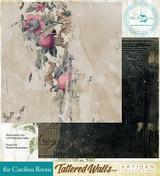 Blue Fern Studios - Tattered Walls 12x12 dbl sided paper - The Carolina Room