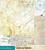 Blue Fern Studios - Tattered Walls 12x12 dbl sided paper - The Sun Room (62848087)