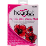 Heartfelt Creations - 3D Floral Basics Shaping Mold (HCFB1 464)