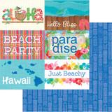 Photoplay - 12x12 scrapbook paper - Aloha - Paradise (PPAL 8935)