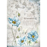 Stamperia - Dreamer - Decoupage Rice Paper 8.25 x 11.5 DFSA4249