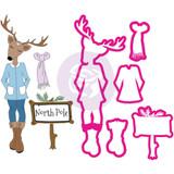 Prima - Julie Nutting - Christmas Stamp & Dies - Rudi Reindeer (912383)