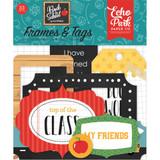 Echo Park Back To School - Frames & Tags Cardstock Die-Cuts (BTS1560 25