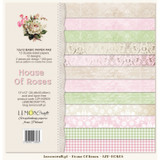 LemonCraft - House of Roses - 12 x 12 Base Paper Pad LZP-HOR03