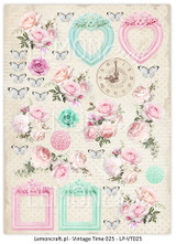 LemonCraft - Yesterday- Decorative paper - Cut-apart Icons & Images - Vintage Time 025