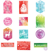 Prima Frank Garcia - Sweet Peppermint - Watercolor Resist Tags (991555)