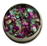 28 Lilac Lane Tin W/Sequins 40g - Violet Blossom (LL310)