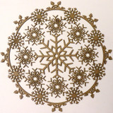 Creative Embellishments - Chipboard - Snowflake Doily