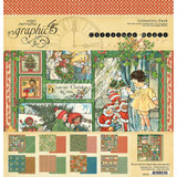 Christmas Magic- Collection Pack Double-Sided Paper 12x12 - Graphic 45