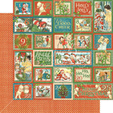 Graphic 45 - Christmas Magic -  Countdown Surprise-- Double-Sided Paper - 12x12