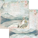Stamperia - Double sided 12x12 Paper - Fairy Unicorn SBB560