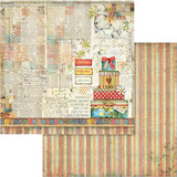 Stamperia - Double sided 12x12 Paper - Patchwork Gift (SBB571)
