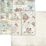 Stamperia - Double sided 12x12 Paper - Rose & Angels SBB580