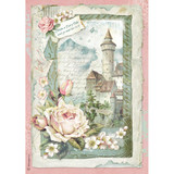 Stamperia - Decoupage Rice Paper 8.25 x 11.5 - Castle Fantasy DFSA4347