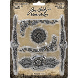 Tim Holtz - Idea-Ology Metal Vignette Accents 6/Pkg TH93730