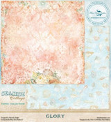 Blue Fern Studio - Seaside Cottage 12x12 dbl sided paper - Glory (129872)