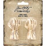 "Tim Holtz - Idea-Ology - Mini Zombie Hands 2""X.75"" 2/Pkg (TH93737)"