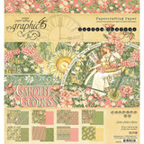 """Graphic 45 - Double-Sided Paper Pad 8""""X8"""" 24/Pkg - Garden Goddess G4501752"""