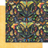 Graphic 45 - Flutter - Double sided 12x12 Paper - Vivacious FLU450 1774