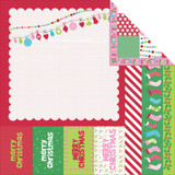 "Kaisercraft - Double-Sided scrapbooking paper 12""X12"" - Mint Twist - North Pole P936"