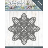 Find It Trading Precious Marieke - Winter Flowers - Floral Snowflake Die PM10140