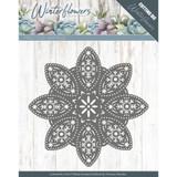 Find It Trading Precious Marieke - Winter Flowers - Floral Snowflake Die PM10140