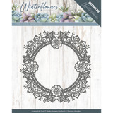 Find It Trading Precious Marieke - Winter Flowers - Ice Flower Circle PM10141