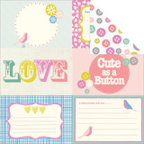 "Kaisercraft - Double-Sided scrapbooking paper 12""X12"" - Suga Pop - Gummi P1055"